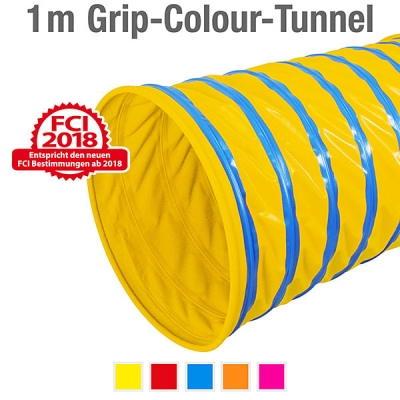360° Grip-Colour-Tunnel, ø 60 cm, 100 cm