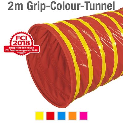 360° Grip-Colour-Tunnel, ø 60 cm, 200 cm