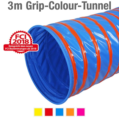 360° Grip-Colour-Tunnel, ø 60 cm, 300 cm