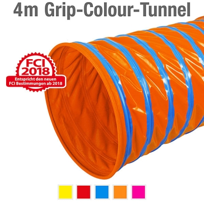 360° Grip-Colour-Tunnel, ø 60 cm, 400 cm
